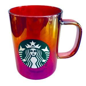 Rare Holographic Iridescent Starbucks Mug